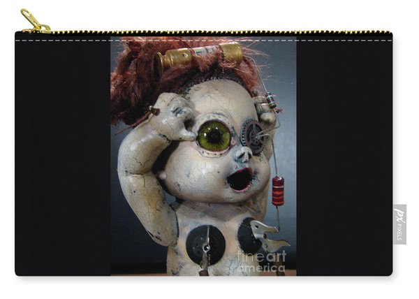 Creepy Edison Carry-all Pouch