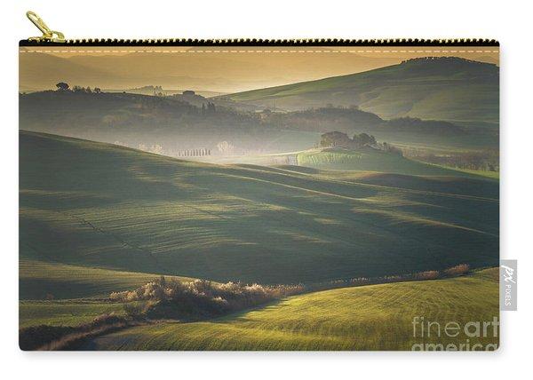 Crete Senesi Landscape In Tuscany Carry-all Pouch