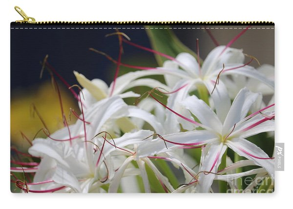 Crinum Lily Closeup Carry-all Pouch