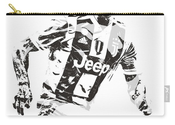 Cristiano Ronaldo Juventus Pixel Art 3 Carry-all Pouch