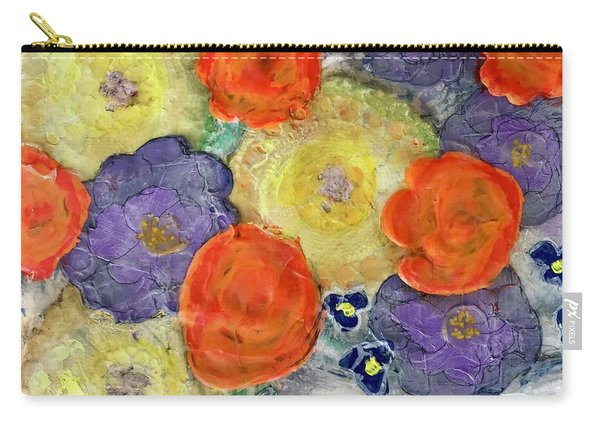 Crochet Bouquet Carry-all Pouch