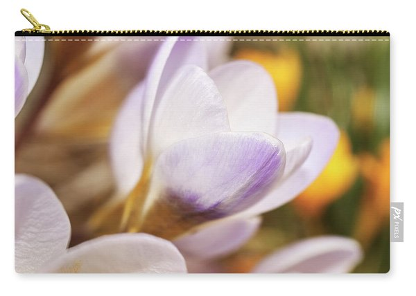 Carry-all Pouch featuring the photograph Crocus by Whitney Goodey