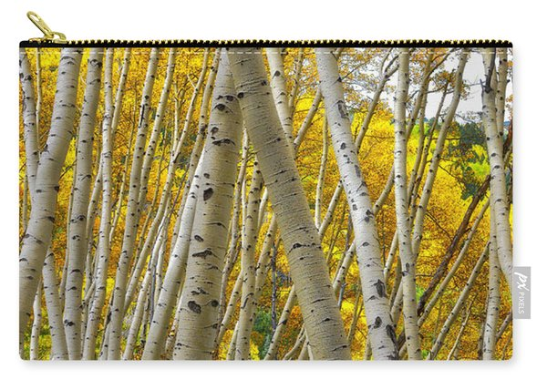 Crossed Aspens Carry-all Pouch