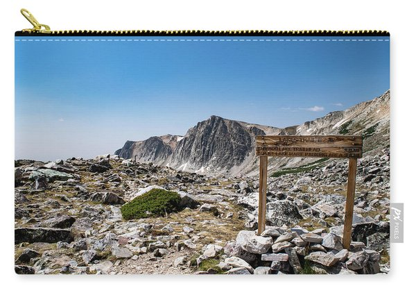 Crossroads At Medicine Bow Peak Carry-all Pouch