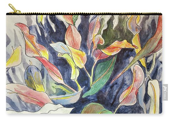 Croton Plant Carry-all Pouch