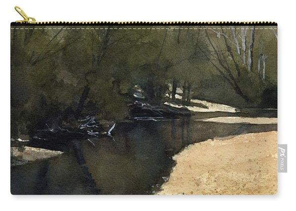 Crow Creek, Augusta, Missouri Carry-all Pouch