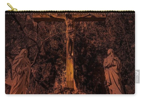 Crucifixion Of Christ By Richard Cuevas Carry-all Pouch