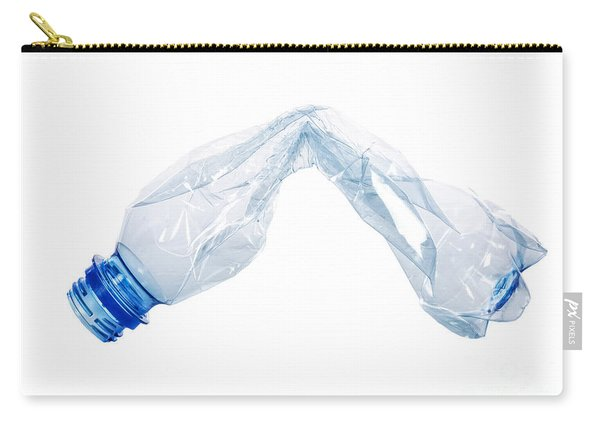Crushed Plastic Bottles Carry-all Pouch