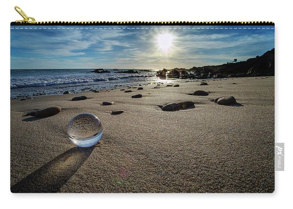 Crystal Ball Sunset Carry-all Pouch