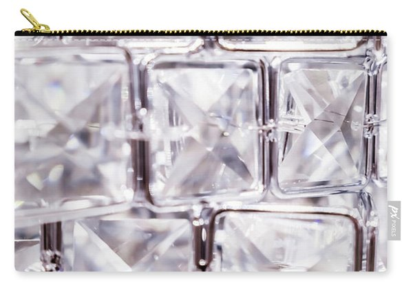 Crystal Bling V Carry-all Pouch