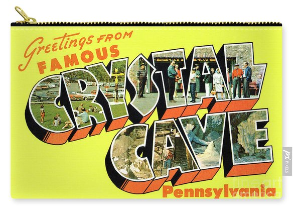 Crystal Cave Greetings Carry-all Pouch