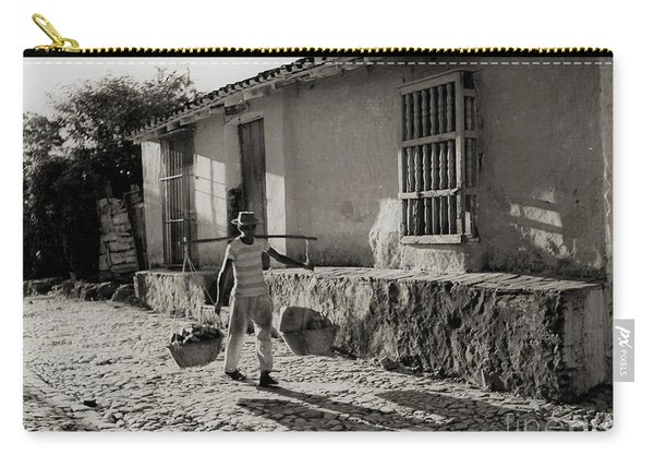 Cuba Village Water Carrier Carry-all Pouch