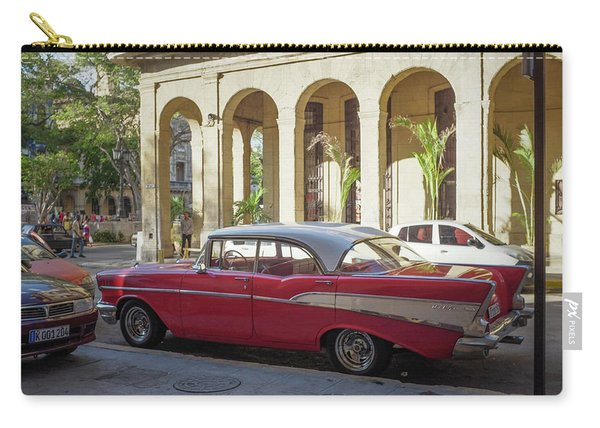 Cuban Chevy Bel Air Carry-all Pouch