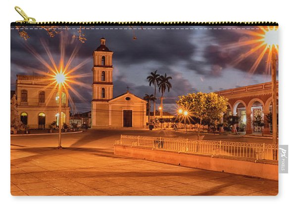 Carry-all Pouch featuring the photograph Cuban Dawn by Tom Singleton