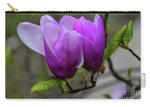 Cuddling In Spring Carry-all Pouch