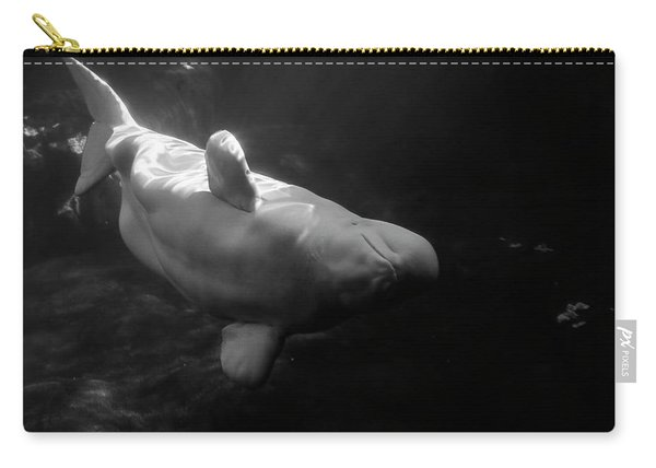 Curious Beluga Carry-all Pouch
