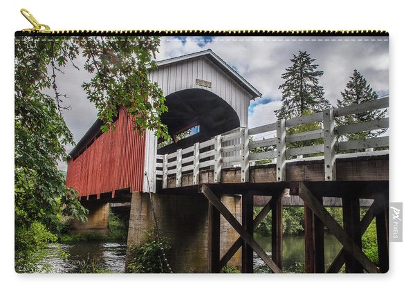 Currin Covered Bridge Carry-all Pouch