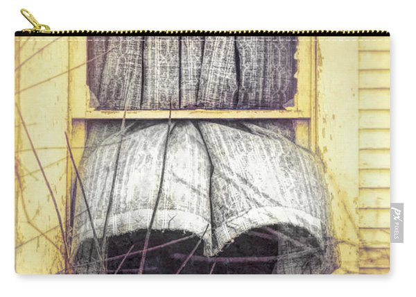 Curtain Blowing Open Window Carry-all Pouch
