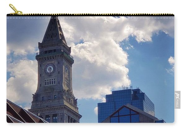 Custom House Clock Tower Carry-all Pouch