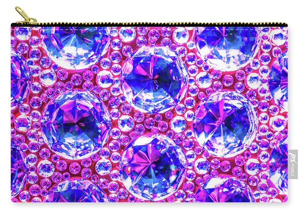 Cut Glass Beads 4 Carry-all Pouch