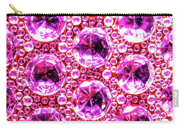 Cut Glass Beads 6 Carry-all Pouch