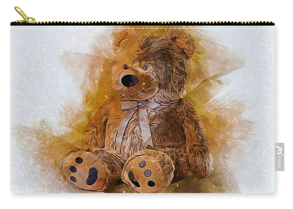 Cute Bear Carry-all Pouch