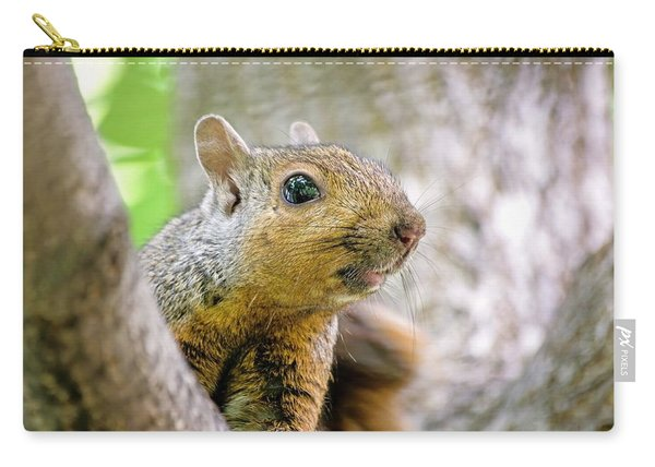 Cute Funny Head Squirrel Carry-all Pouch