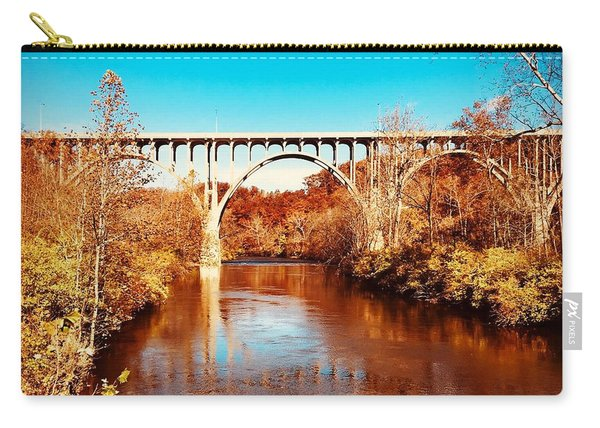Cuyahoga River At Autumn Carry-all Pouch
