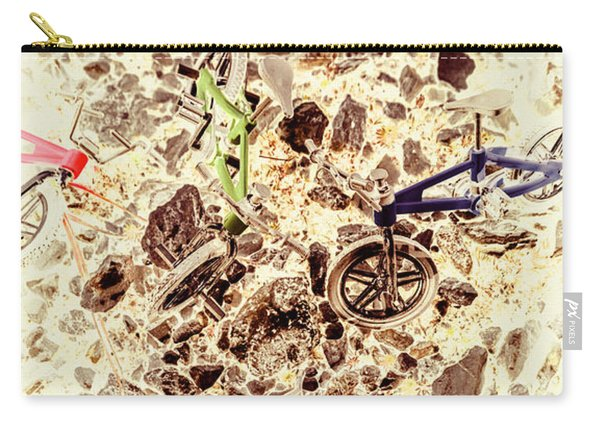 Cycling Abstracts Carry-all Pouch