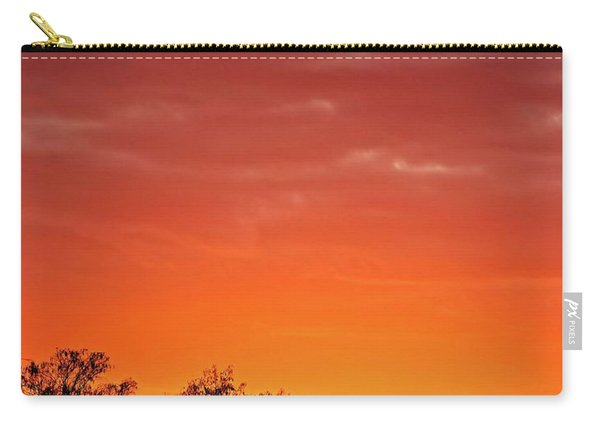 Cypress Swamp Sunset 4 Carry-all Pouch