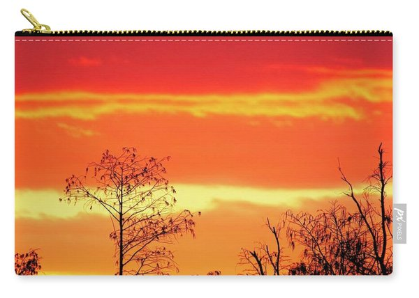 Cypress Swamp Sunset 5 Carry-all Pouch