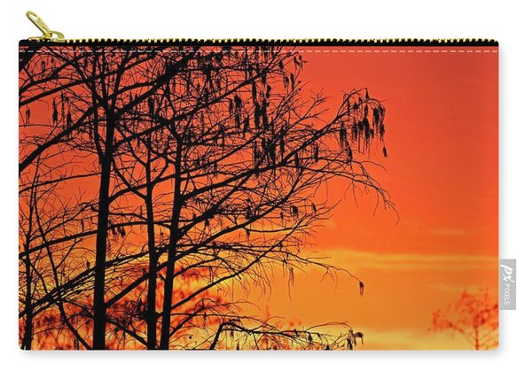 Cypress Swamp Sunset Carry-all Pouch