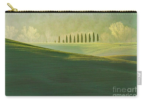 Cypress Tree Lines Carry-all Pouch