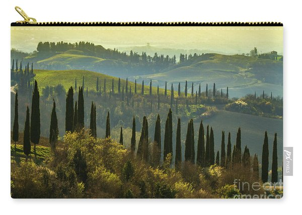 Cypress Trees In Tuscany-1 Carry-all Pouch