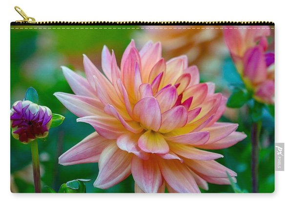 Dahlia Splendor Carry-all Pouch