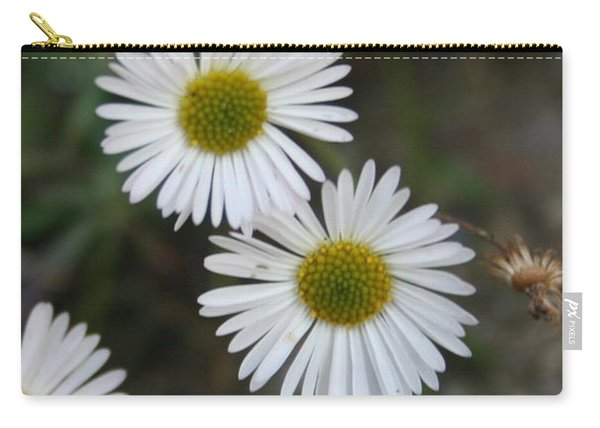Daisy Daisy And Your White Petal Minding The Sun Core Carry-all Pouch