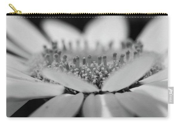 Daisy Flower Macro Carry-all Pouch
