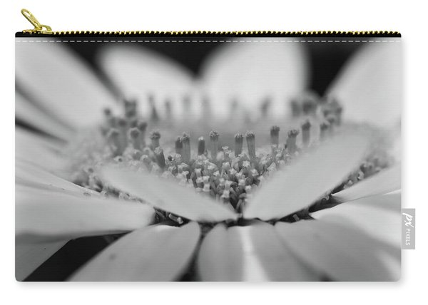 Daisy Flower Macro Carry-all Pouch