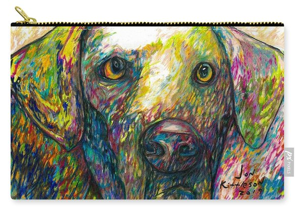 Daisy The Dog Carry-all Pouch