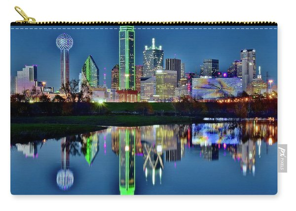 Dallas Blue Hour Carry-all Pouch
