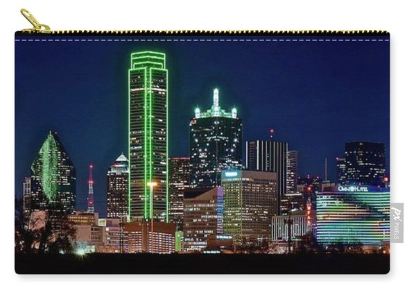 Dallas In The Rear View Carry-all Pouch