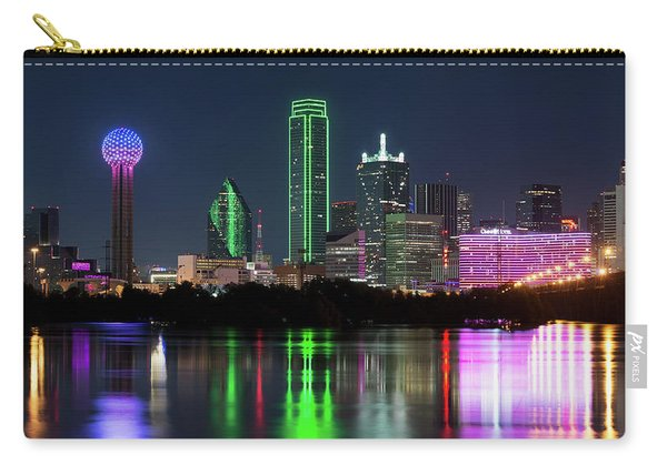 Dallas Reflection Pano 022719 Carry-all Pouch