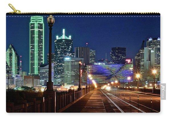 Dallas Texas Cowboy Blue Night Carry-all Pouch