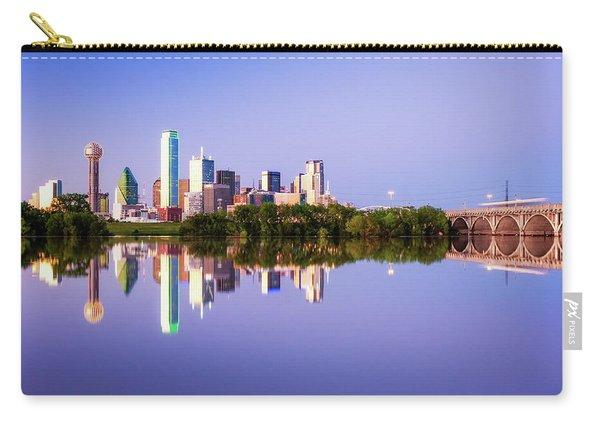 Dallas Texas Houston Street Bridge Carry-all Pouch