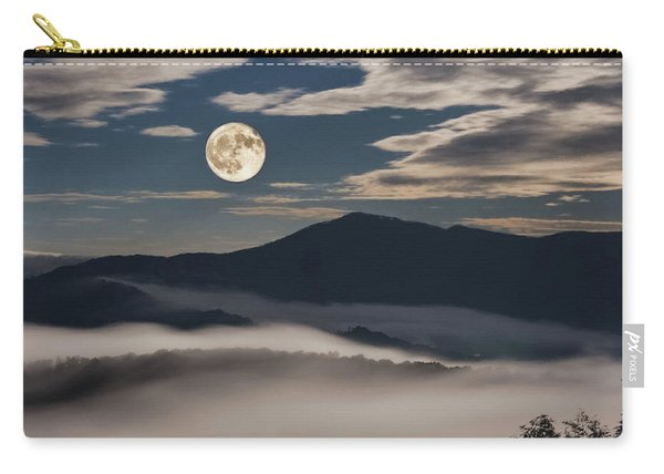 Dance Of Clouds And Moon Carry-all Pouch