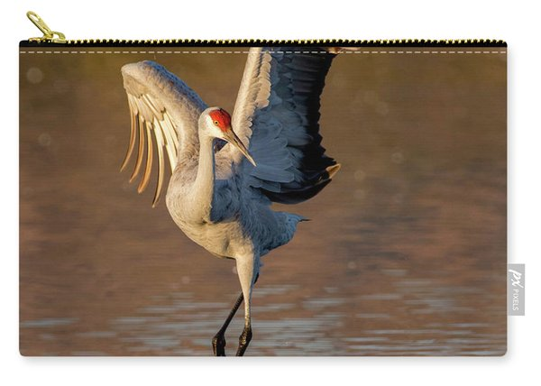 Dance Of The Sandhill Crane Carry-all Pouch