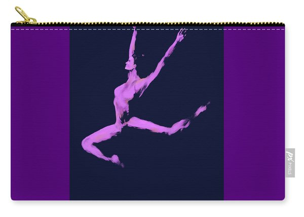 Dancer In The Dark Blue Carry-all Pouch