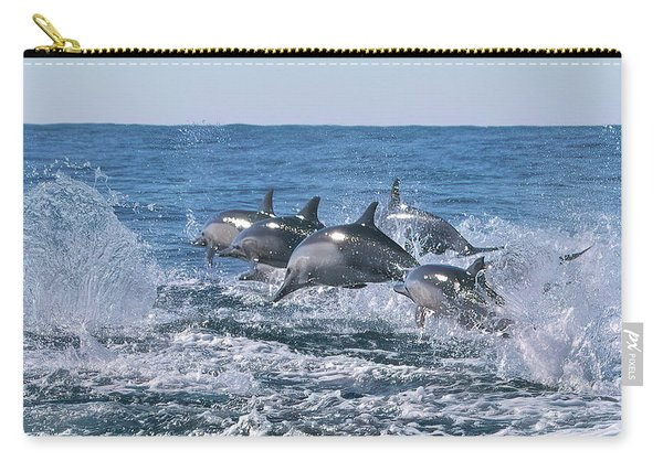 Dancing Dolphins Carry-all Pouch