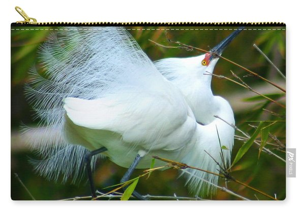 Dancing Egret Carry-all Pouch