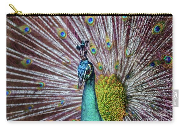 Dancing Indian Peacock  Carry-all Pouch
